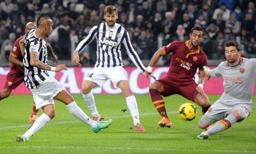 Arturo Vidal, buteur sur l'ouverture du score