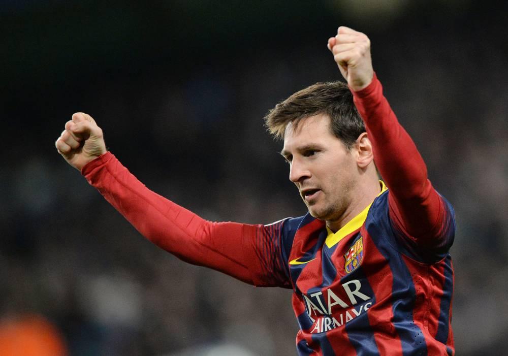Lionel Messi est content