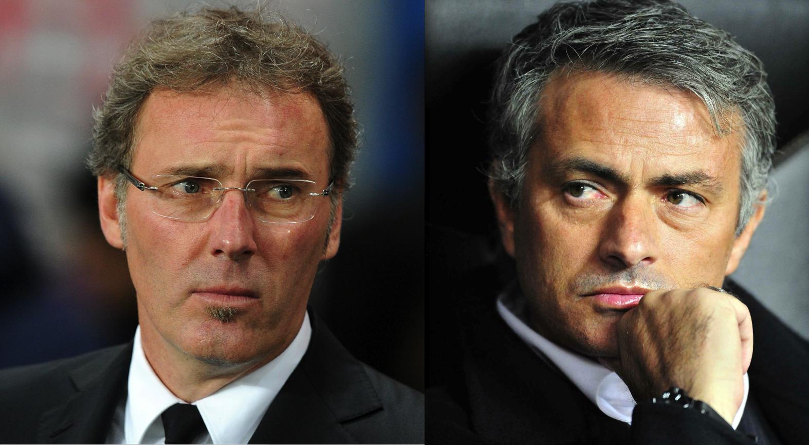 Blanc - Mourinho, première