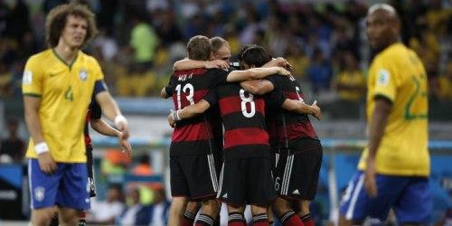 Désastre à l'Estadio Mineirão : le Brésil torpillé en une demi)heure par l'Allemagne.