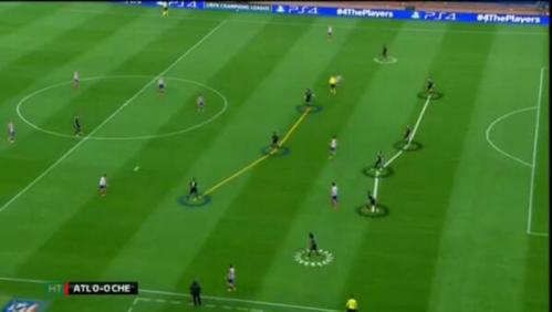 Le 631 garé par Mourinho sur la pelouse de Vincente Calderon en avril dernier (0-0)